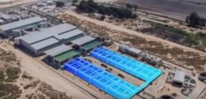 Israel, el país que le saca la sal al agua para beber y regar (video)