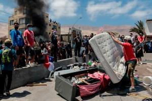 """""""Inadmisible humillación"""": ONU rechazó ataque a migrantes, mayormente venezolanos, en Chile"""