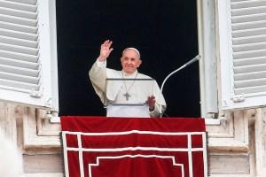 """El papa Francisco muestra su """"solidaridad"""" a los afectados por el volcán en La Palma"""