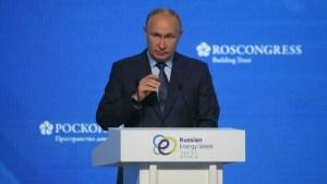 """Vladimir Putin: """"Las criptomonedas privadas pueden actuar como una unidad de cuenta"""""""
