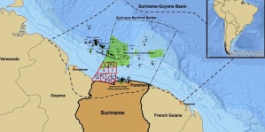 La petrolera estatal de Surinam y Chevron firman un contrato de ganancias compartidas